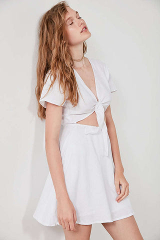 Sir The Label Elsa Linen Dress