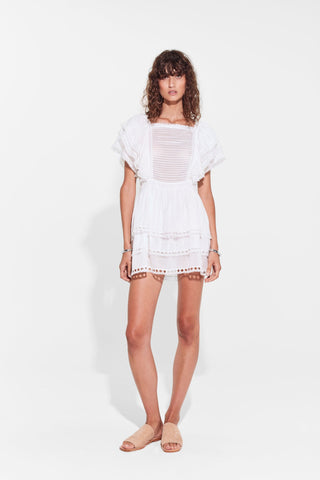 Sir The Label Dylan Ruffle Mini Dress