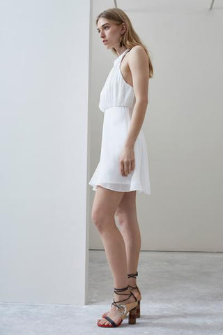 C/MEO Fading Nights Mini Dress Ivory