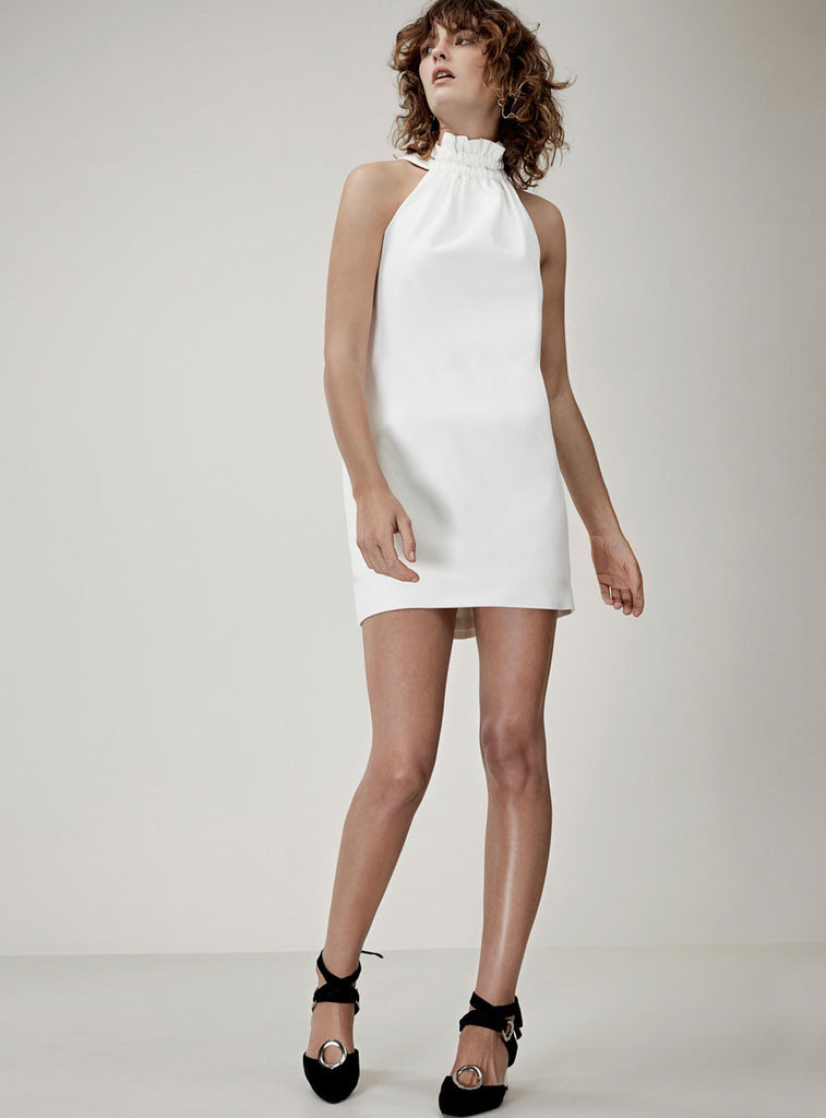 C/MEO Out of Line Mini Dress Ivory