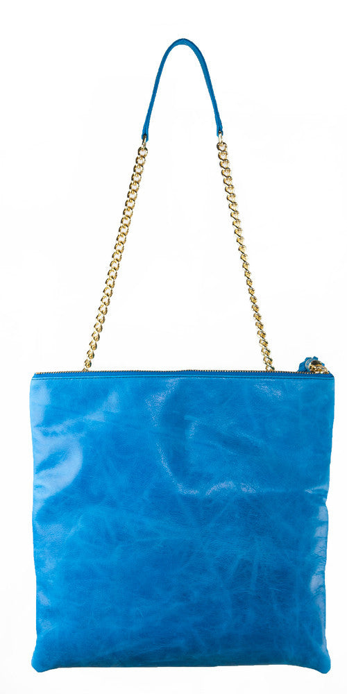 Shanaz Pacific Blue Convertible Clutch