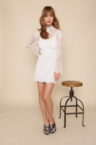 Stone Cold Fox Kerr Dress White