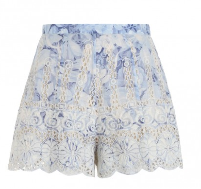 Zimmermann Confetti Scallop Short
