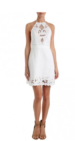 Zimmermann Trinity Scallop Dress