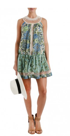 Zimmermann Ceramic Infinity Flip Dress