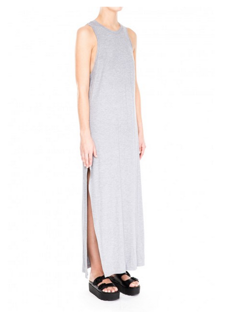 The Fifth Chrome Maxi Dress
