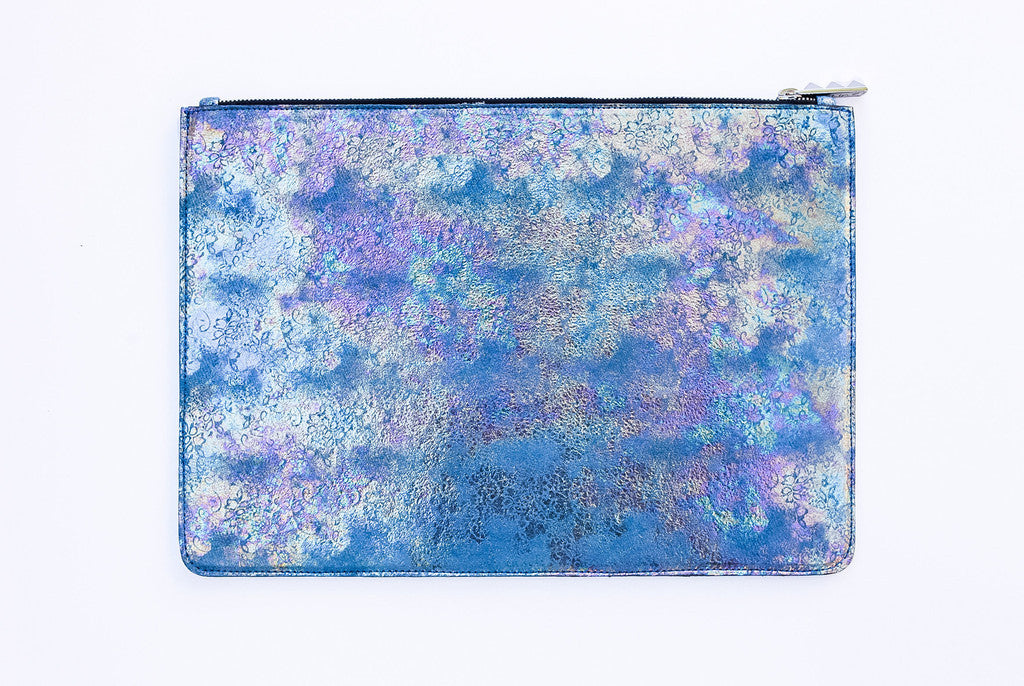 Shanaz Oil Spill Folio Clutch