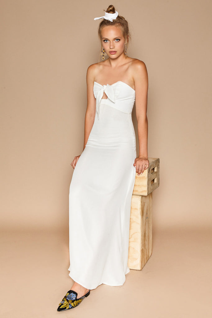 Stone Cold Fox Syracuse Gown White