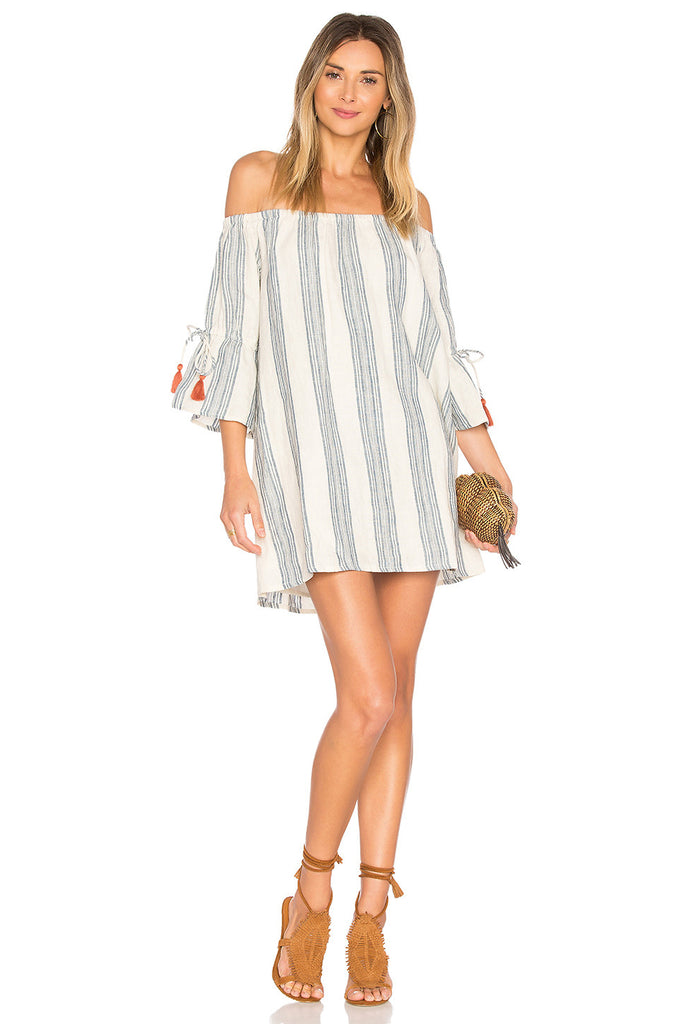 Tularosa Sara Dress - Chambray Stripe