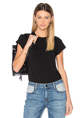 BLQ Tee Bodysuit - Black