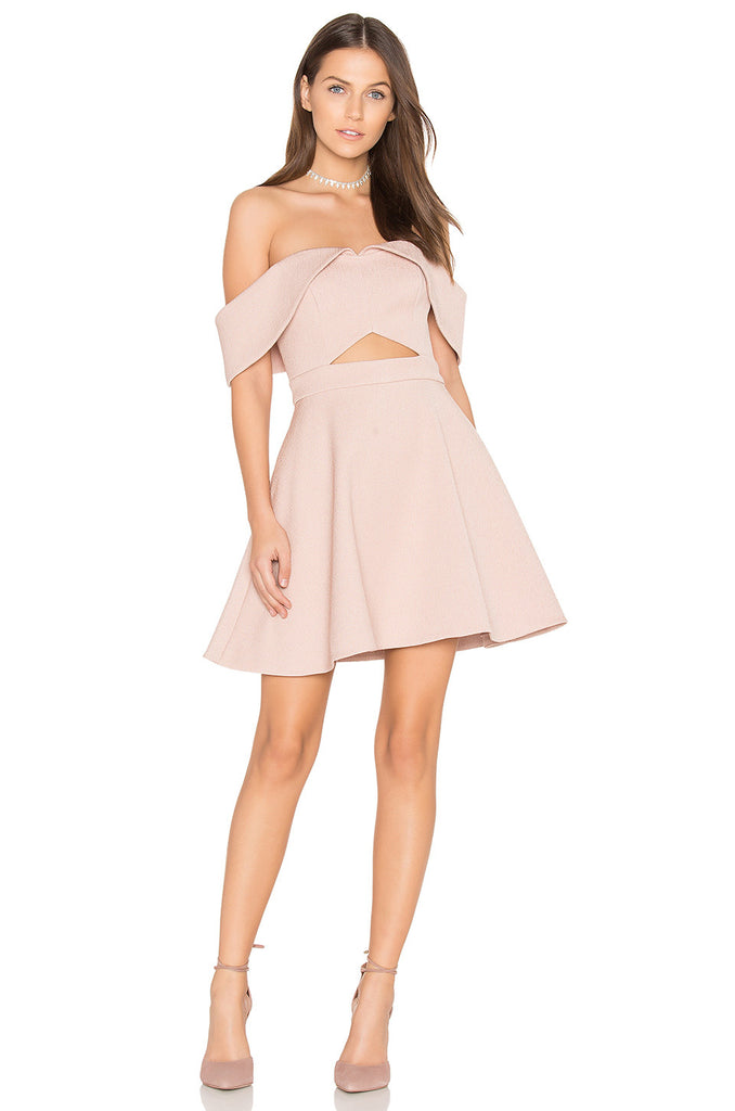 Keepsake Apollo Mini Dress Blush