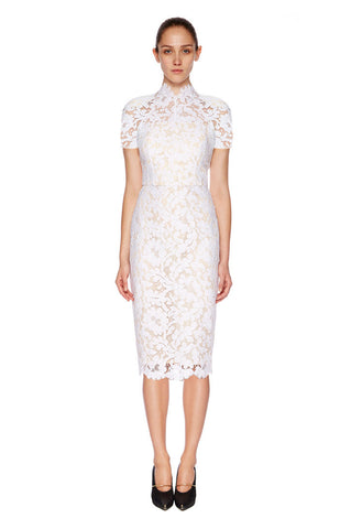Lover Warrior Lace Midi Dress