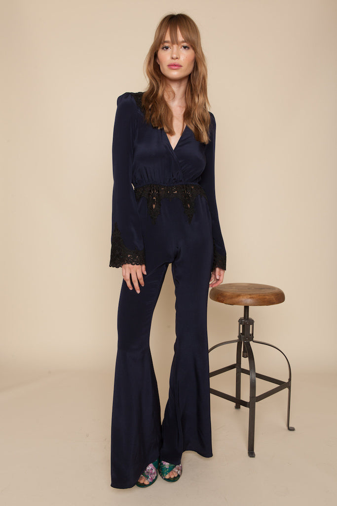 Stone Cold Fox Bella Jumpsuit Navy