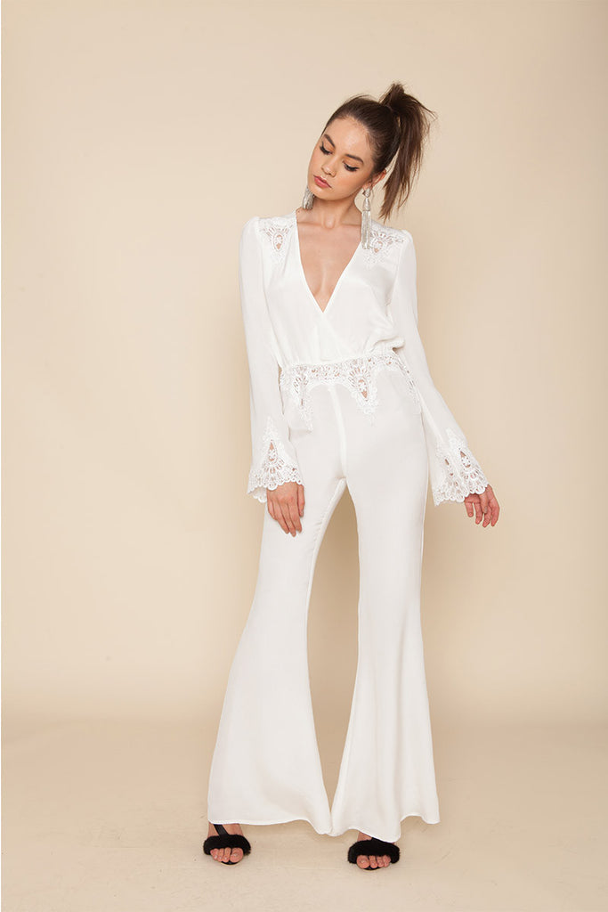 Stone Cold Fox Bella Jumpsuit Ivory