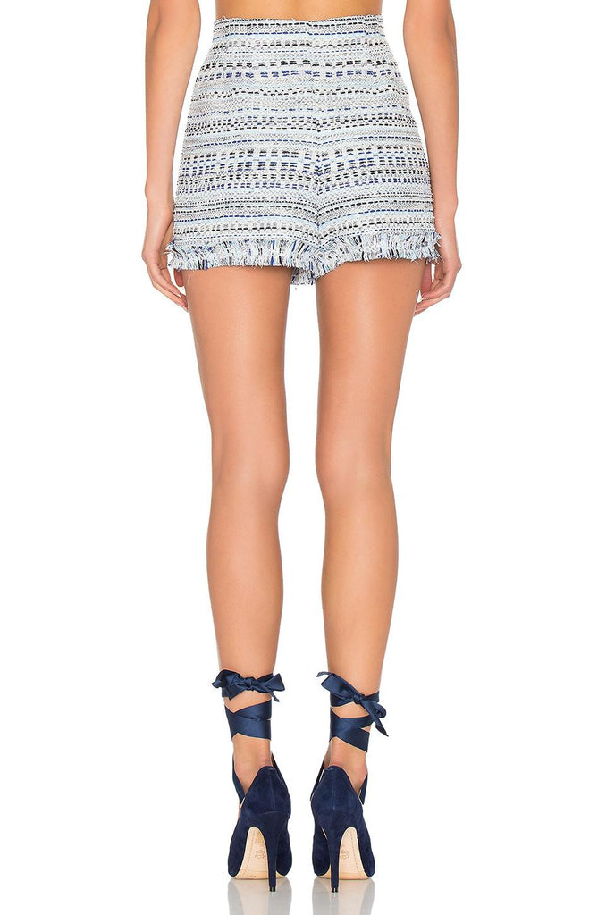 Thurley Blue Lagoon Tweed Short