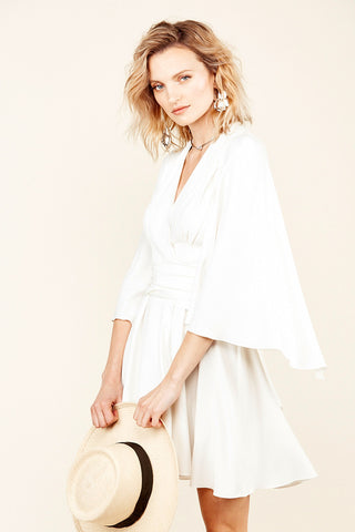 Stone Cold Fox Celeste Dress White
