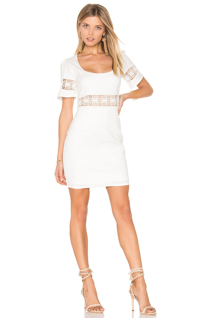 Stone Cold Fox Crawford Dress White