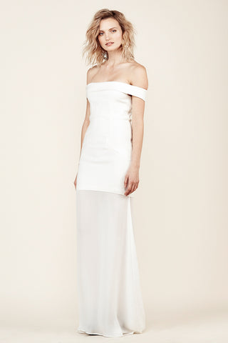 Stone Cold Fox Fairview Gown White