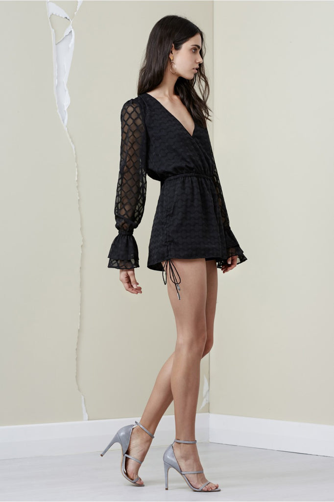 Finders Keepers Ryder LS Playsuit