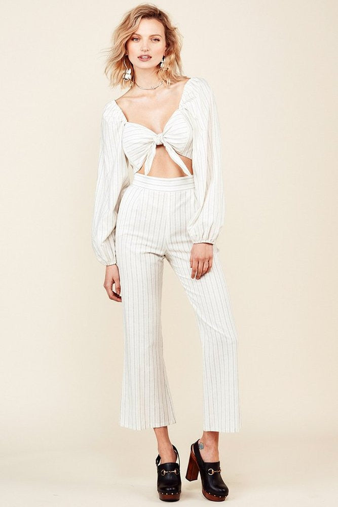 Stone Cold Fox Isla Trousers Pin Stripe