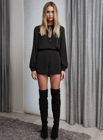 Finders Keepers Huntr L/S Playsuit