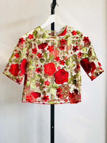 Baanou The Label Rose Top