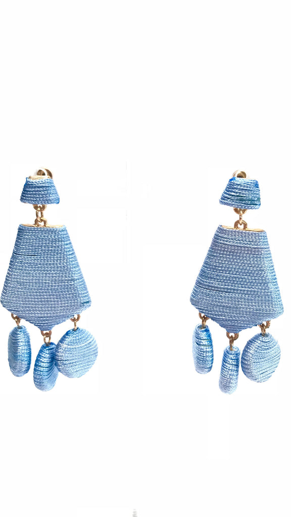 Baby Blue Drop Earrings