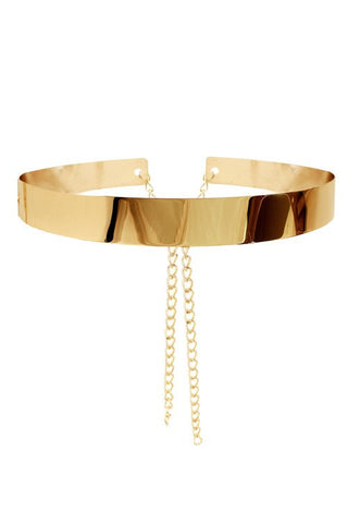 Metal Belt, Gold