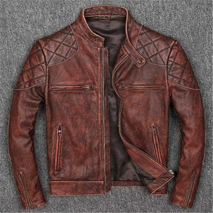 Vintage Leather jacket for motorcycles