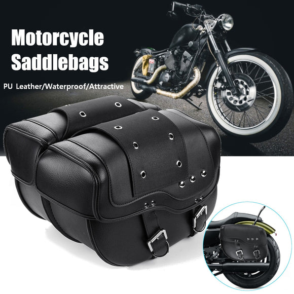 Universal Motorcycle Saddlebag - Free Shipping