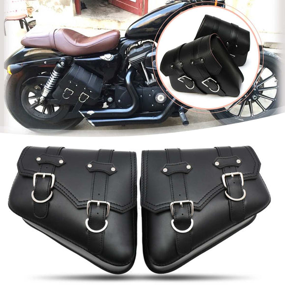 Motorcycle Saddle Bags for Harley Davidson Cruiser - Free Shipping & 10% Discount