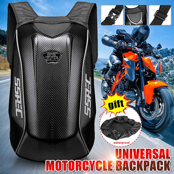 universal motorcycle backpack that is waterproof