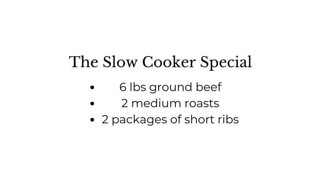 The Slow Cooker Special Box