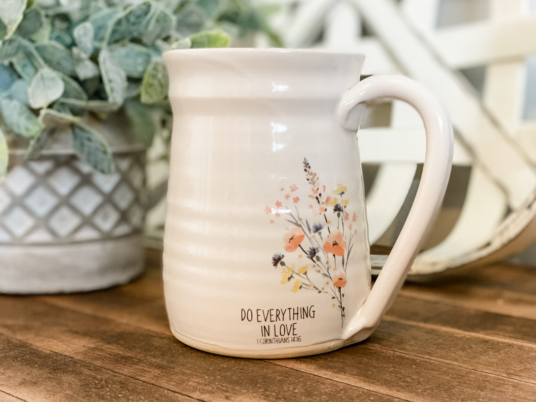 Do Everything in Love Mug