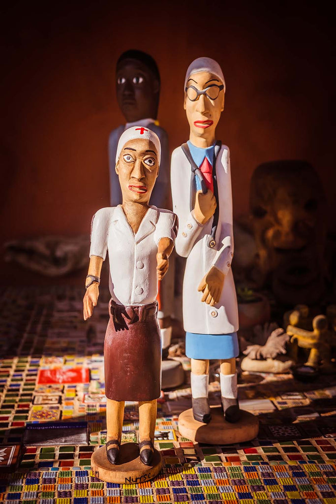 Doctor and Nurse - Covid Collection