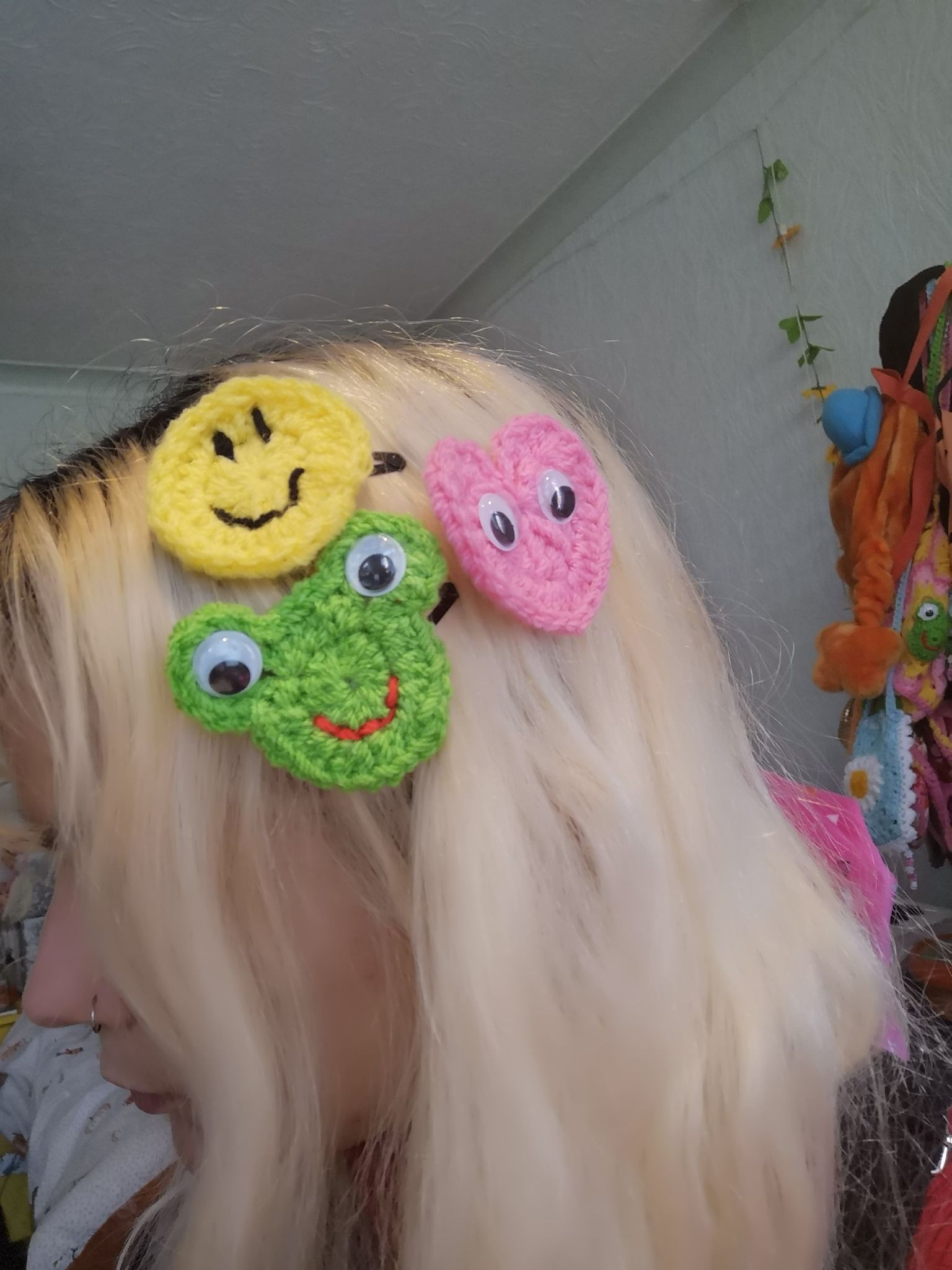 """Hair Friends"" Hair Clips"