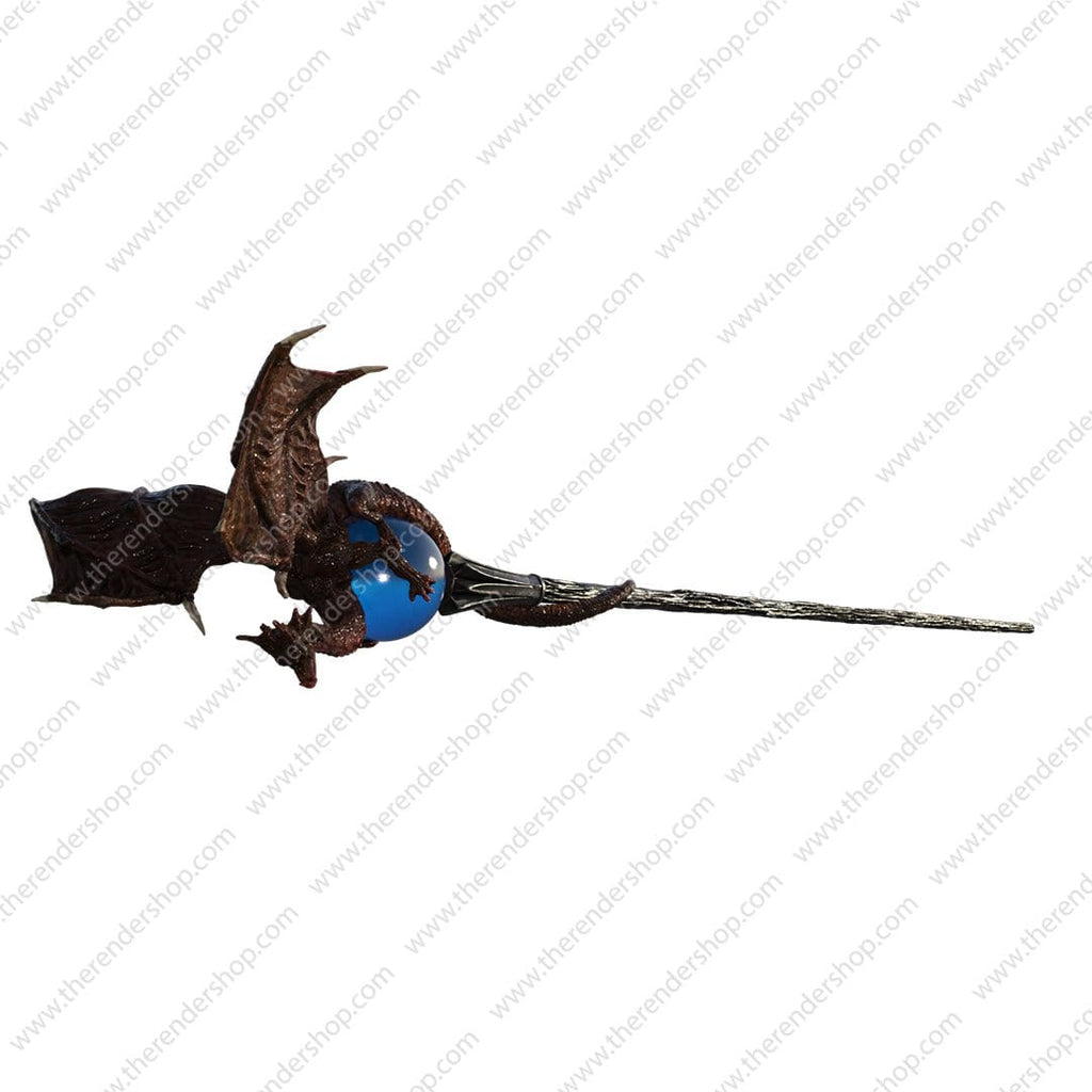 Wizard Staff - Dark