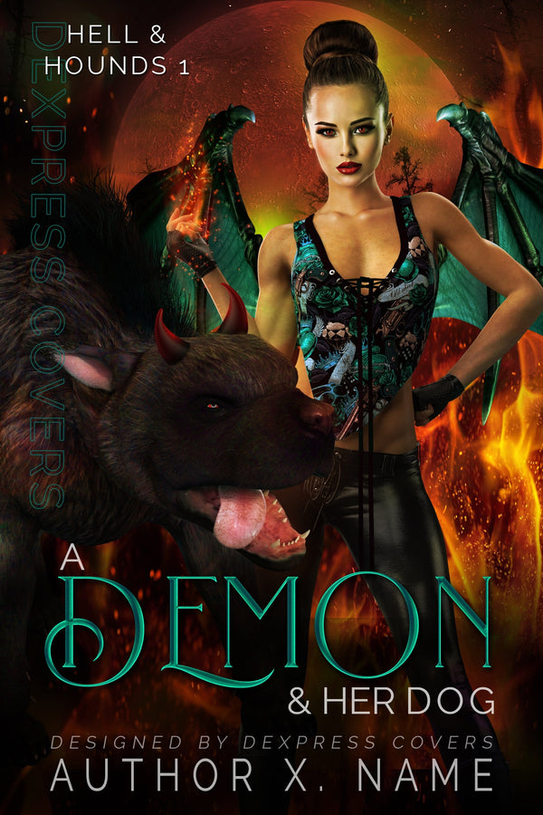 A Demon & Her Dog