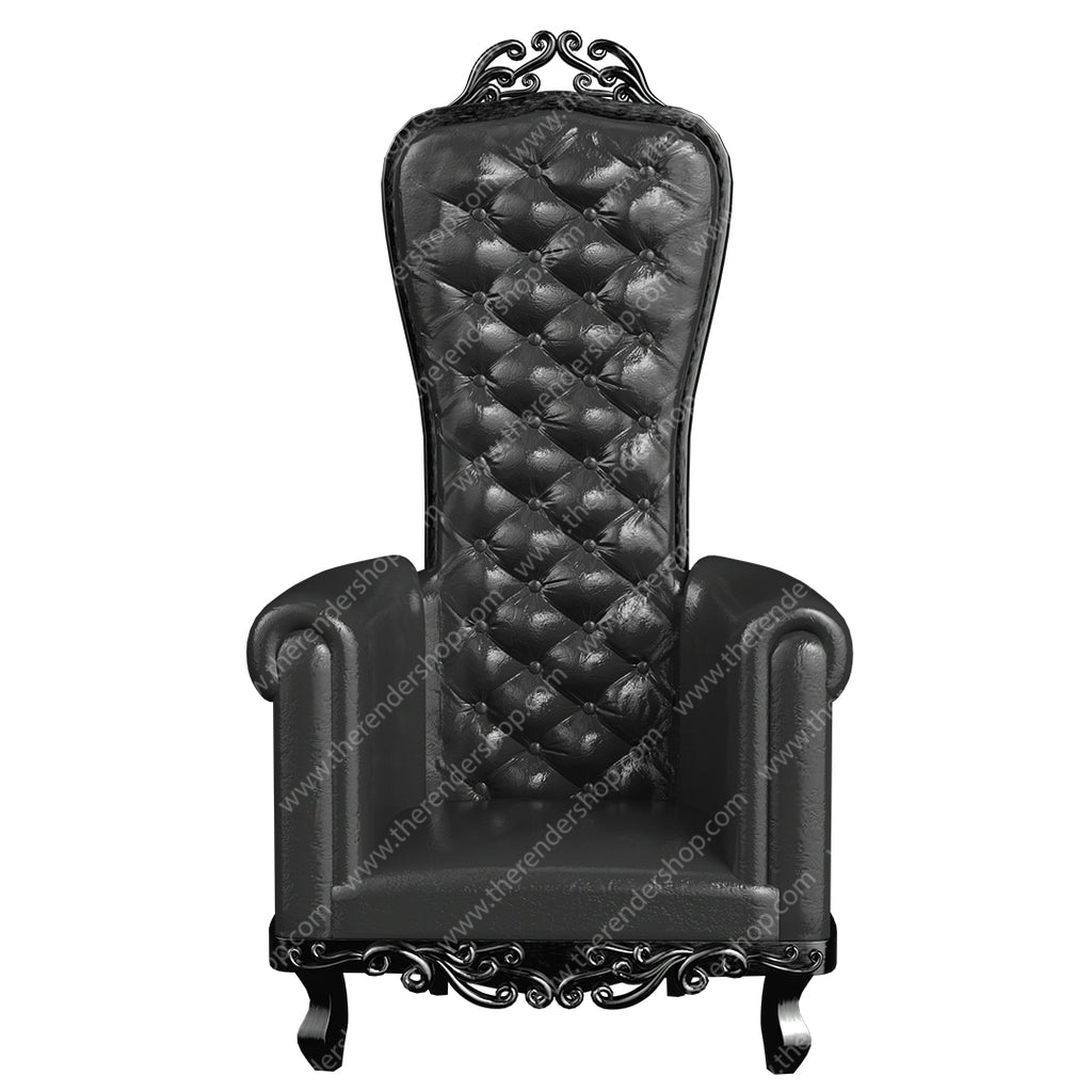 Gothic High Back Chair