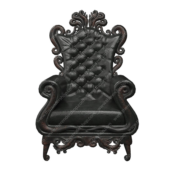 Gothic Short Chair