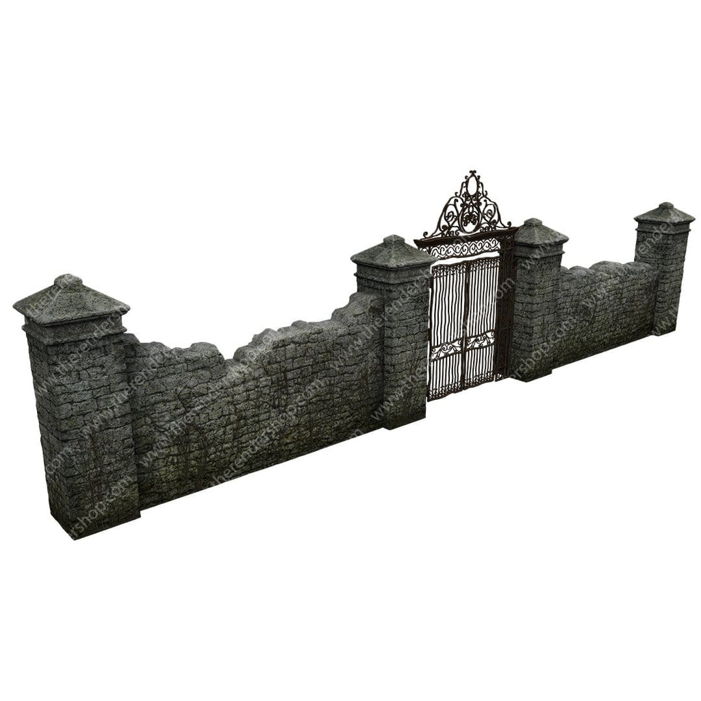Gate in Wall