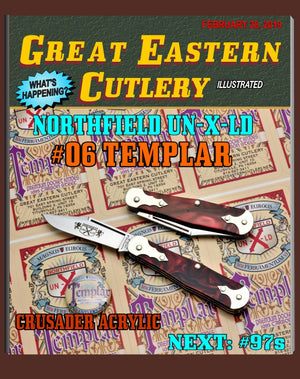 Great Eastern Cutlery #061119 Northfield UN-X-LD Templar Crusader Acrylic