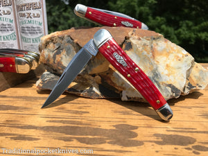 Great Eastern Cutlery #381117 Northfield UN-X-LD .38 Special Indian Paint Brush Jig Bone