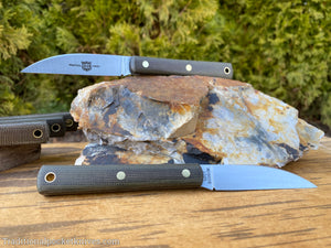 Great Eastern Cutlery #H20018 Hunter OD Green Canvas Micarta
