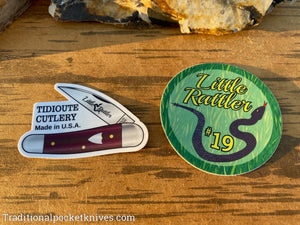 Great Eastern Cutlery #19 Little Rattler Stickers