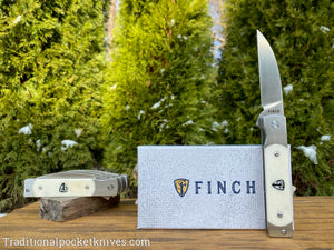 Finch Holliday Smooth White Bone