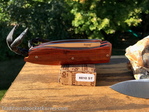 LionSteel Big Opera Santos Wood Folding Knife (8810ST)