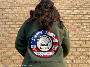 "C. Risner Cutlery ""Old Glory"" USA Sweatshirt"