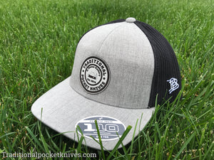 C. Risner Cutlery Branded Bills Hat Heather Grey / Black Arctic Logo
