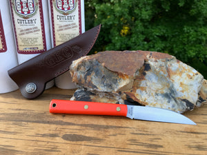 Great Eastern Cutlery #H20018 Hunter Orange Delrin w/ Sheath